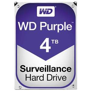 "WD Purple 4TB SATA 6 Gb/s 3,5"", 64MB cache"