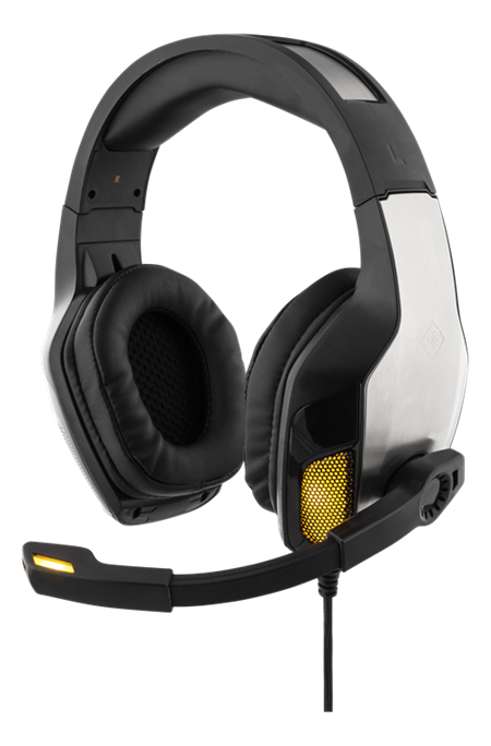 GAMING Stereo Vibrating Gaming Headset, 20Hz-20kHz, 20 O, bl