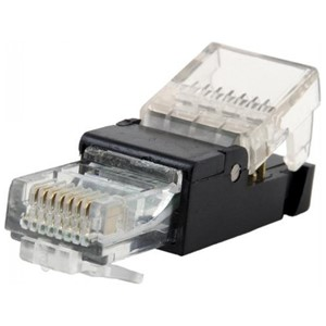 RJ45 kontakt, Cat 6, Toolfree