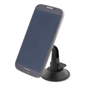 Magnetic car mount, suction cup, rotation, up to 300g