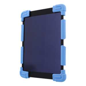 "Case in silicone for 9-11,6"" tablets, tripods, blue"