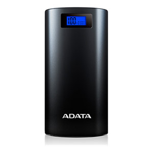 ADATA AP20000D Power Bank, 20,000mAh Li-Ion battery, 2xUSB